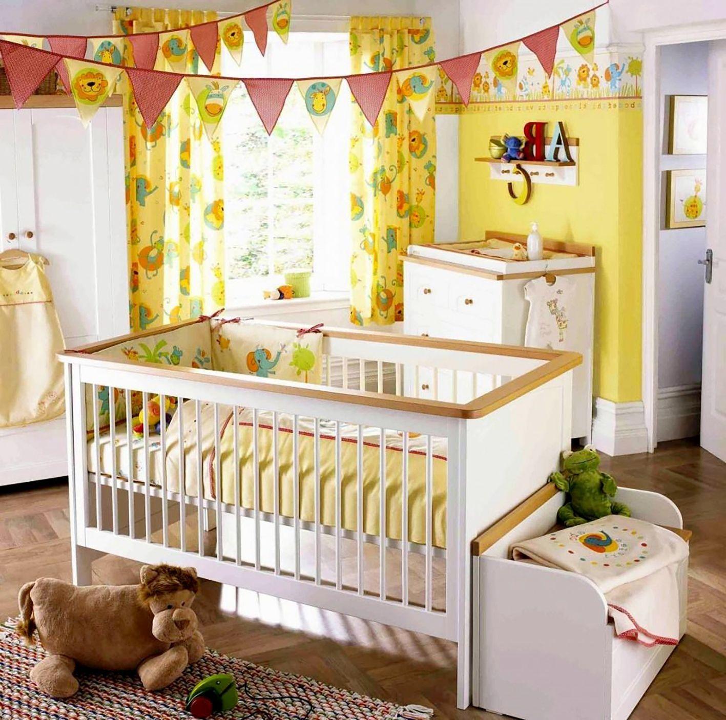 Bebek Odası Perde Seçimi